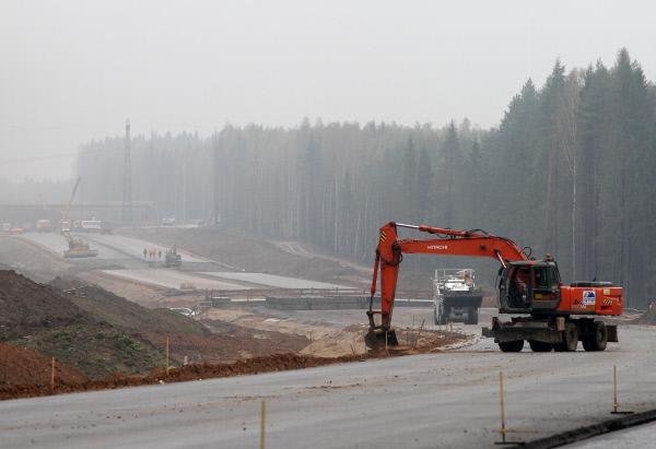 Строительство скоростной трассы Москва – Санкт-Петербург