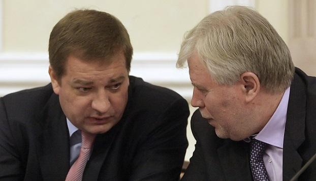 Вадим Яковенко (слева) и Анатолий Кучерена