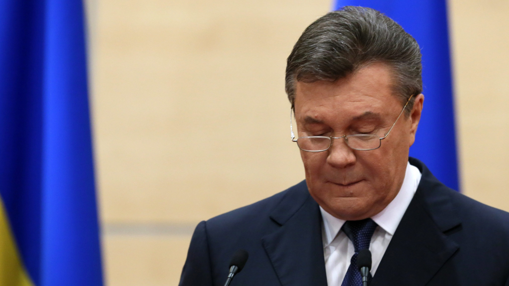 Последнее публичное выступление Виктора Януковича, пресс-конференция в марте 2014 года