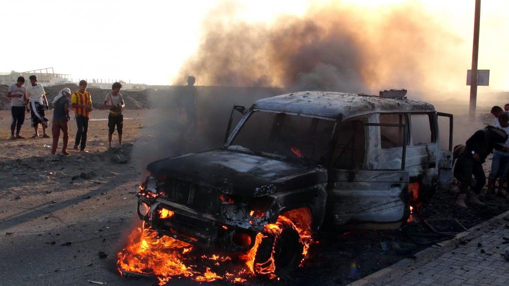 Столкновения в йеменском городе Аден