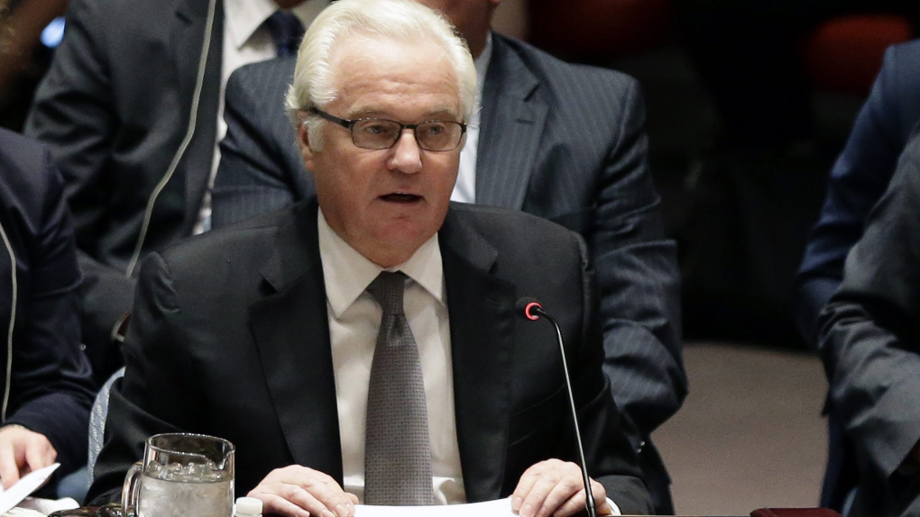Постпред России при ООН Виталий Чуркин