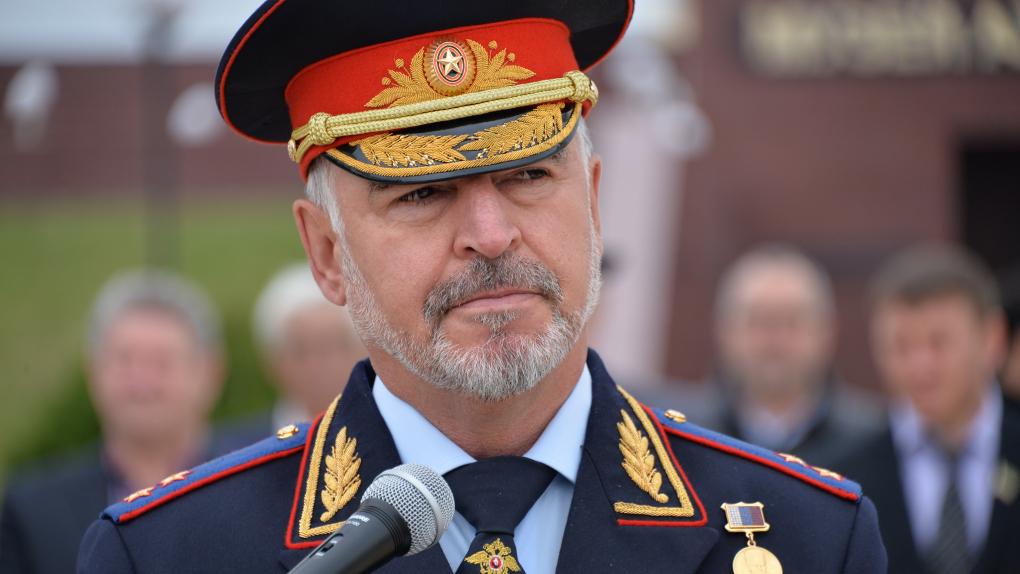 Министр внутренних дел по Чеченской Республике Руслан Алханов