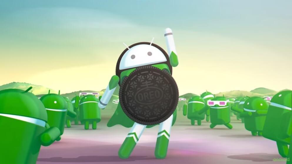 Фото: принскрин видео новой системы Android Google