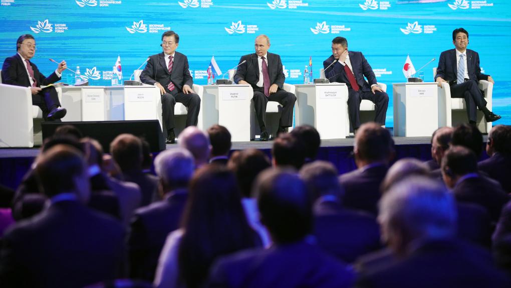 """Пленарное заседание """"Дальний Восток: создавая новую реальность"""""""