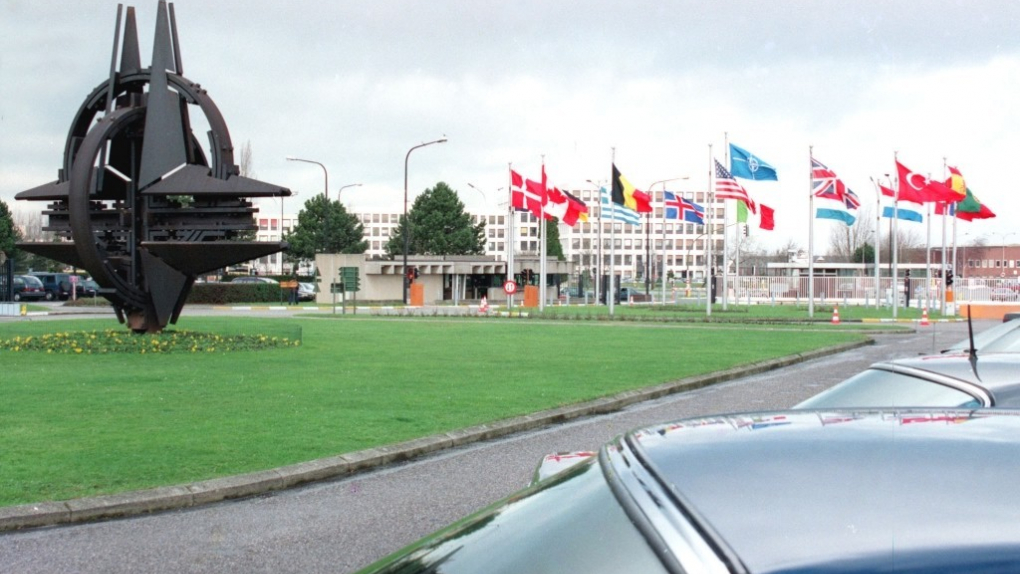 Штаб-квартира НАТО в Бельгии