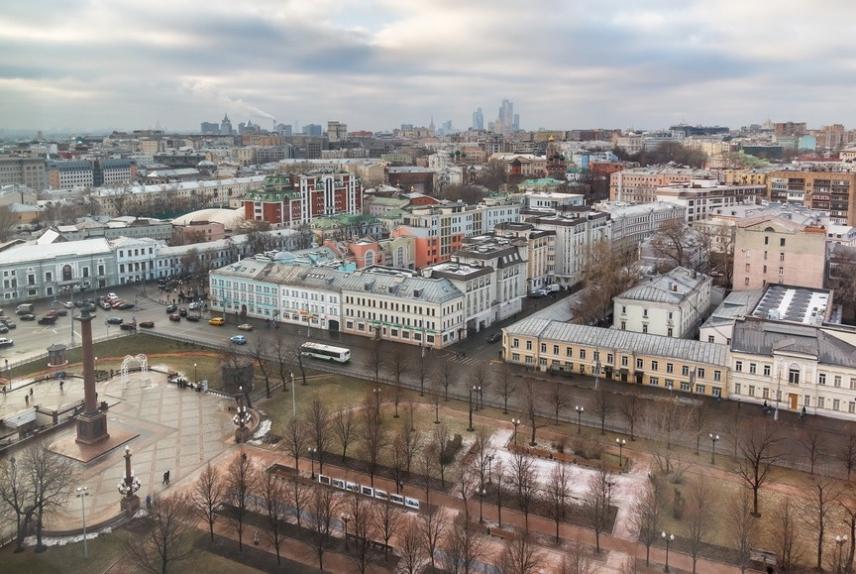 Москва, Трубная площадь