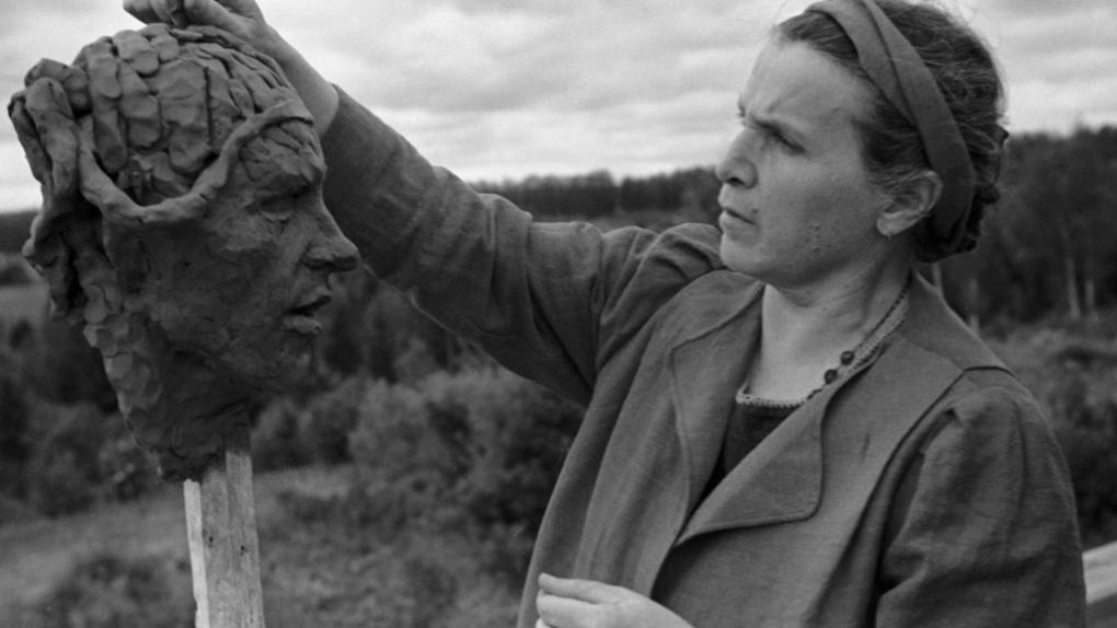 Вера Игнатьевна Мухина (1889-1953), народный художник СССР, скульптор