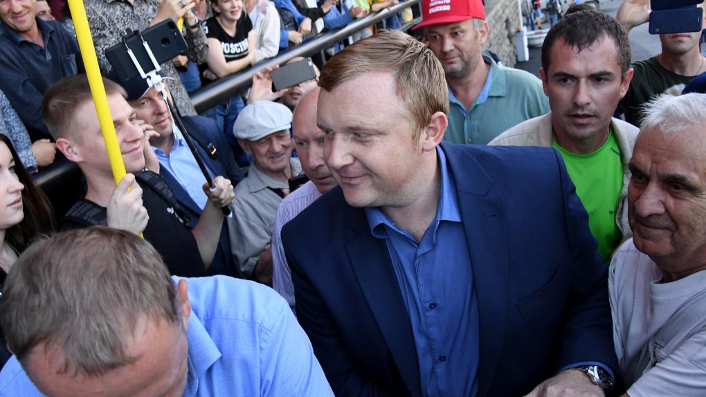 Кандидат в губернаторы от КПРФ Андрей Ищенко