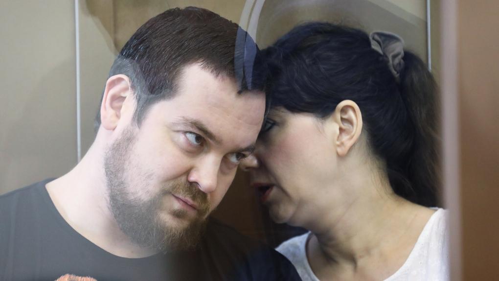 Эрик Китуашвили и Анна Каганская