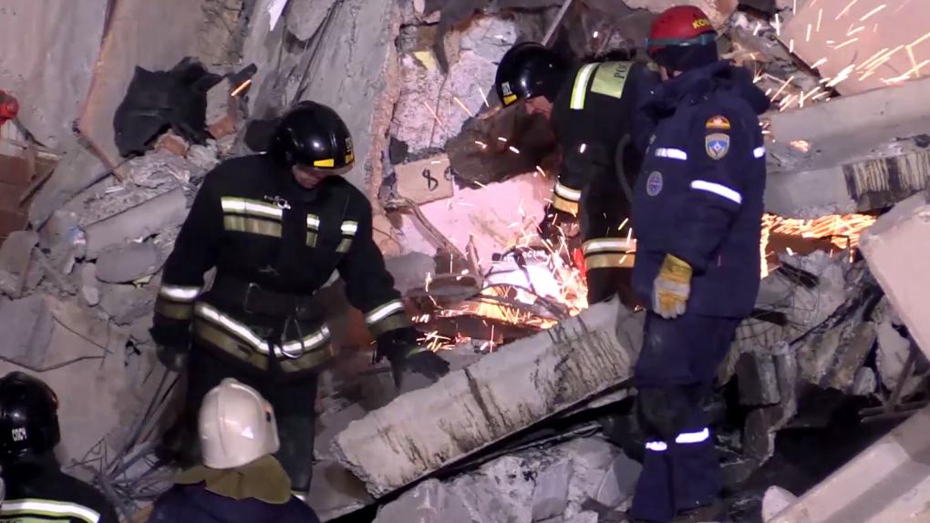 Число погибших при взрыве газа в Магнитогорске достигло восьми