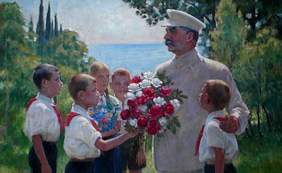 На фото: картина Б. Владимирского