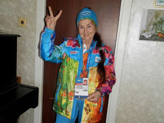 Серебряный волонтер Сочи-2014 Лидия Воронкова