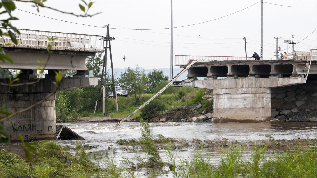 Последствия паводков в Забайкальском крае