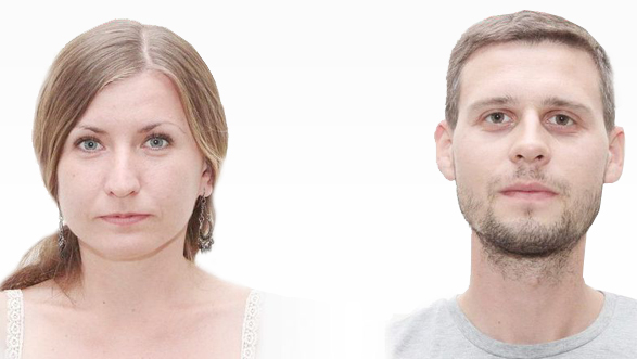 Евгения Королева и Максим Василенко