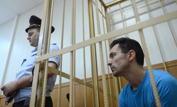 Один из обвиняемых по делу Алексей Широкожухов