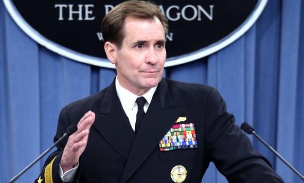 Официальный представитель Пентагона, контр-адмирал Джон Кирби