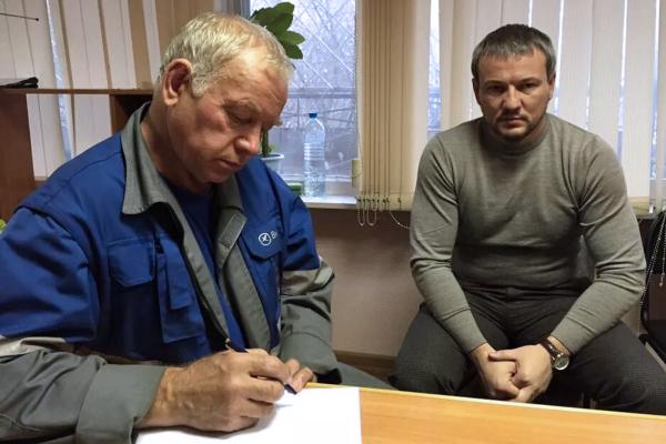 Допрос Владимира Мартыненко в Следственном комитете РФ