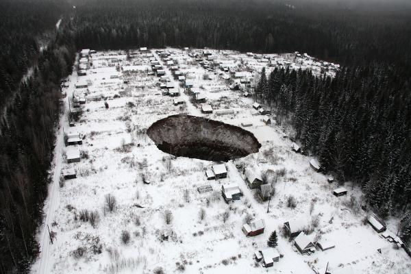 Аварийный рудник в Соликамске
