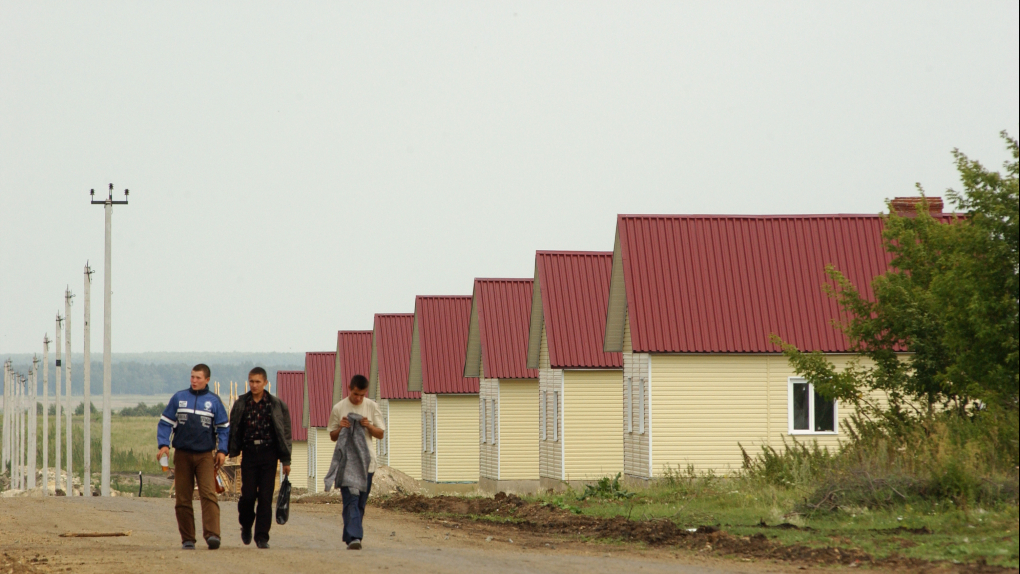 Поселок Новомуслюмово для пострадавших от аварии на химкомбинате