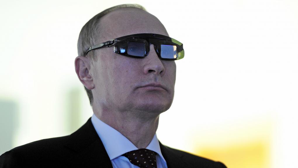 Владимир Путин во время посещения Горного университета в Петербурге