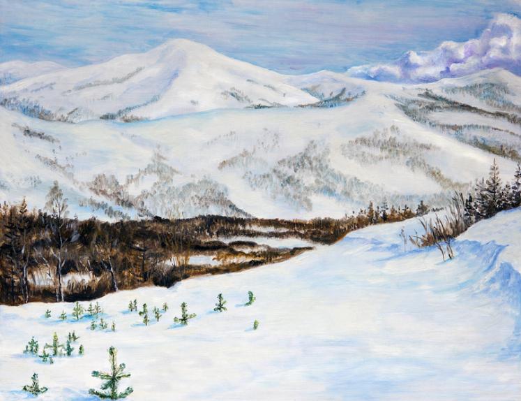 Якутия зимой