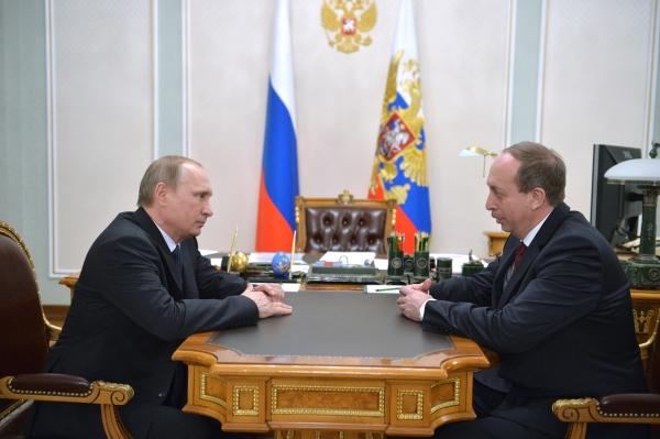 Встреча Александра Левинталя с Владимиром Путиным