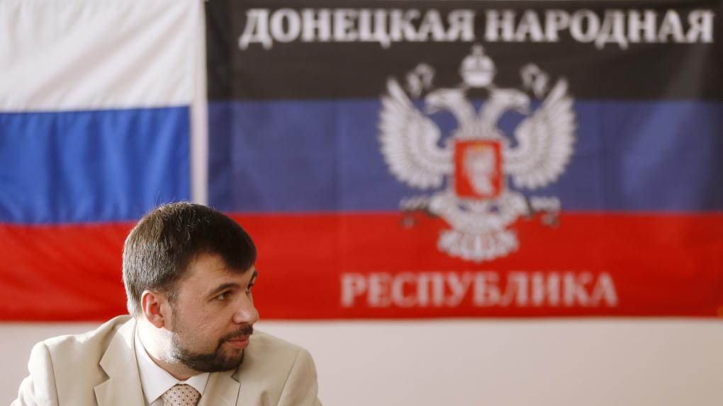 Председатель президиума Верховного совета провозглашенной ДНР Денис Пушилин