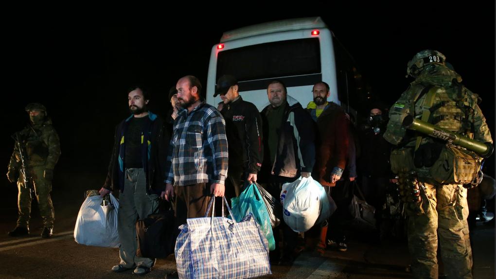 Обмен пленными между ДНР и Киевом в декабре 2014