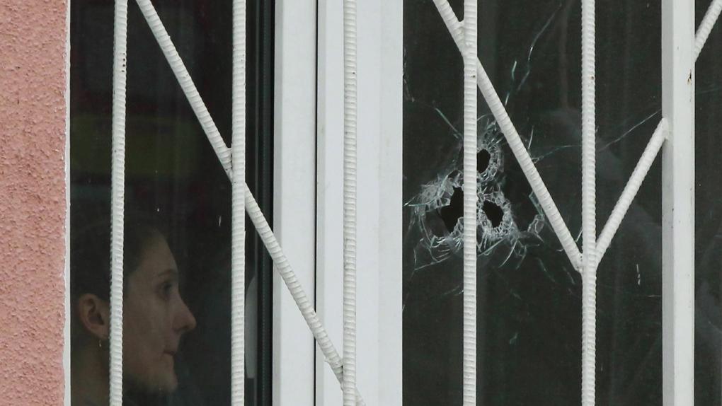 Московская школа 263 в день захвата заложников