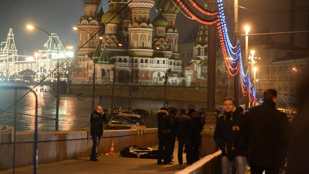 28 февраля, убийство Немцова в центре Москвы