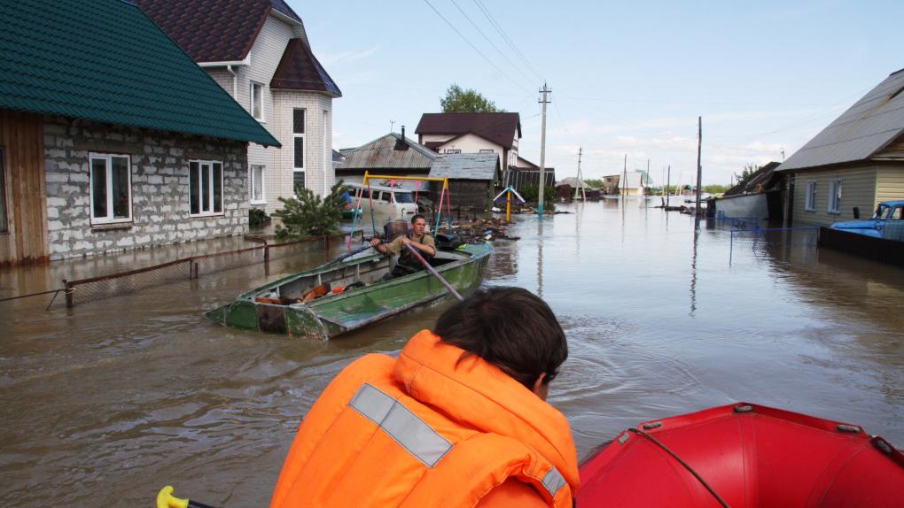 Паводок на Алтае в 2014 году