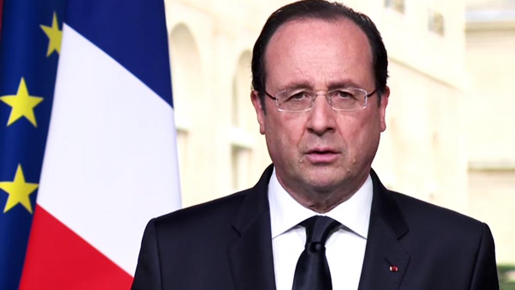 Франсуа Олланд, президент Франции