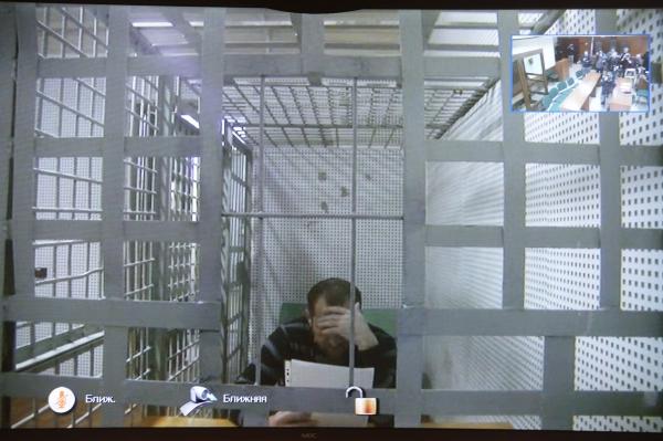 Хамзат Бахаев во время заседания Мосгорсуда