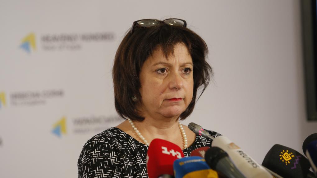 На фото: министр финансов Украины Наталия Яресько