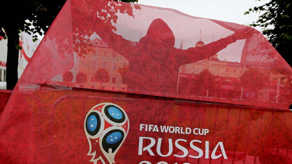 Подготовка к жеребьевке чемпионата мира по футболу 2018 в Санкт-Петербурге