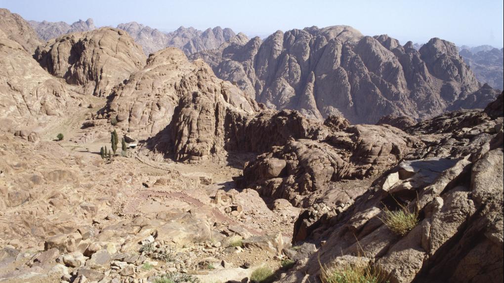 Горы на Синайском полуострове