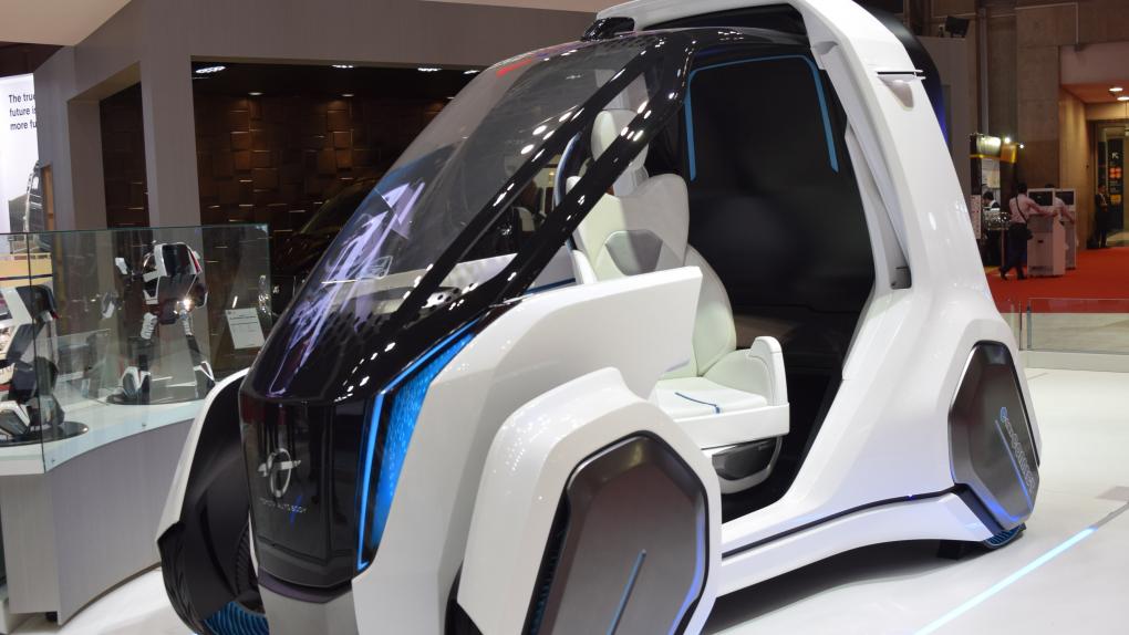 Электромобиль Coms дочерней компании Toyota Auto Body