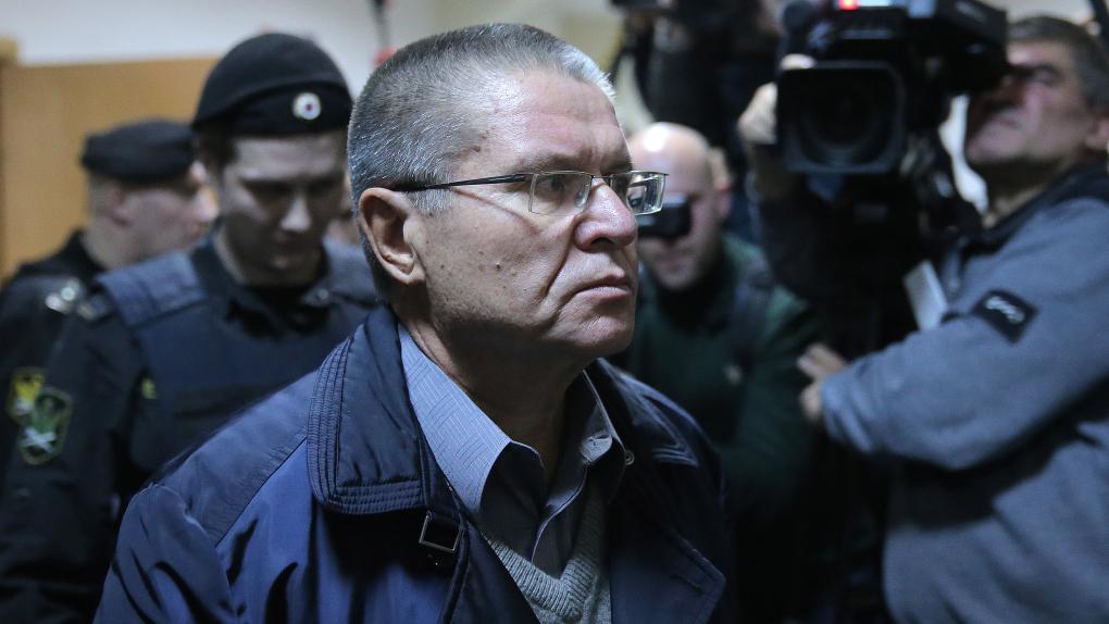 Бывший министр экономического развития РФ Алексей Улюкаев в Басманном суде Москвы