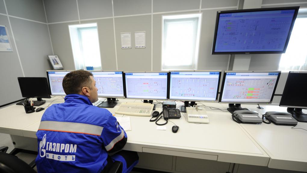 Пульт управления на предприятии ОАО