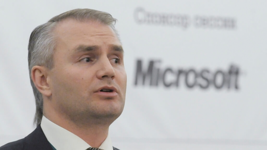 Президент Microsoft в России Николай Прянишников