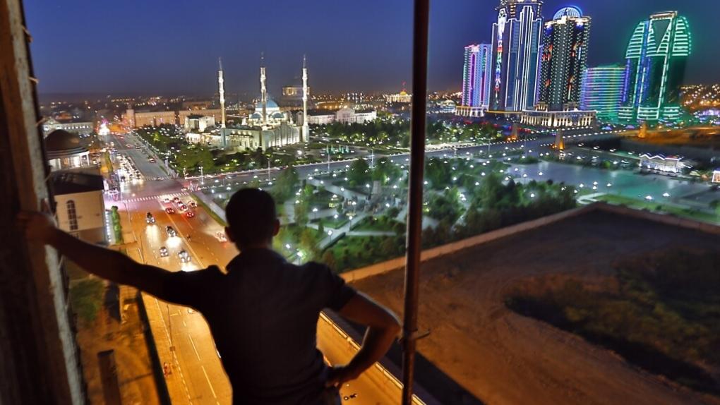 На фото: город Грозный Чеченской республики