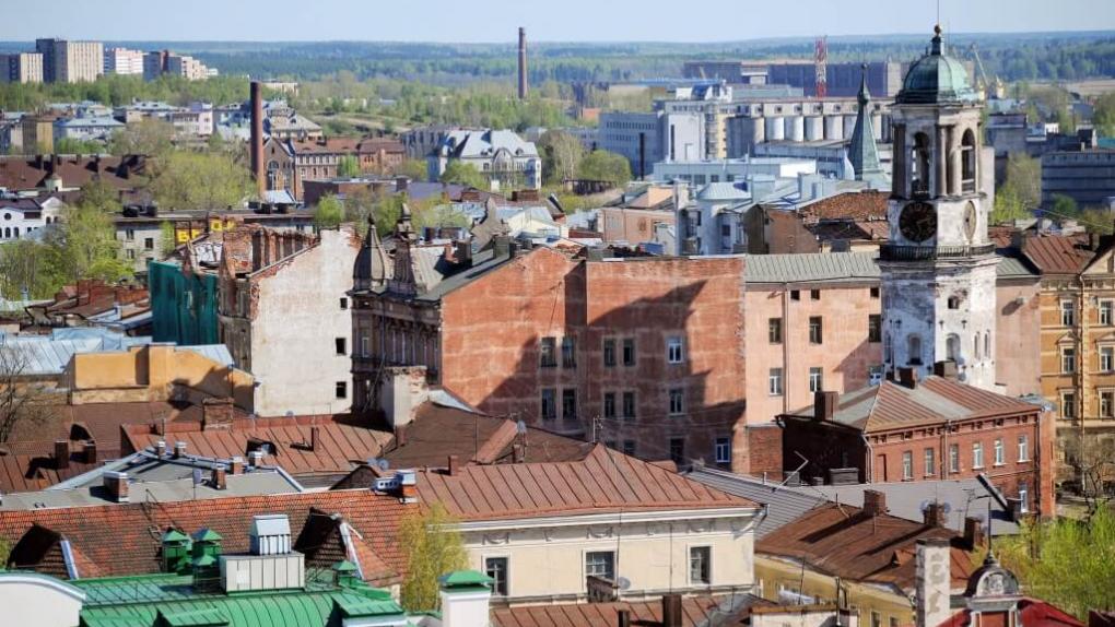 Выборг. Исторический квартал города