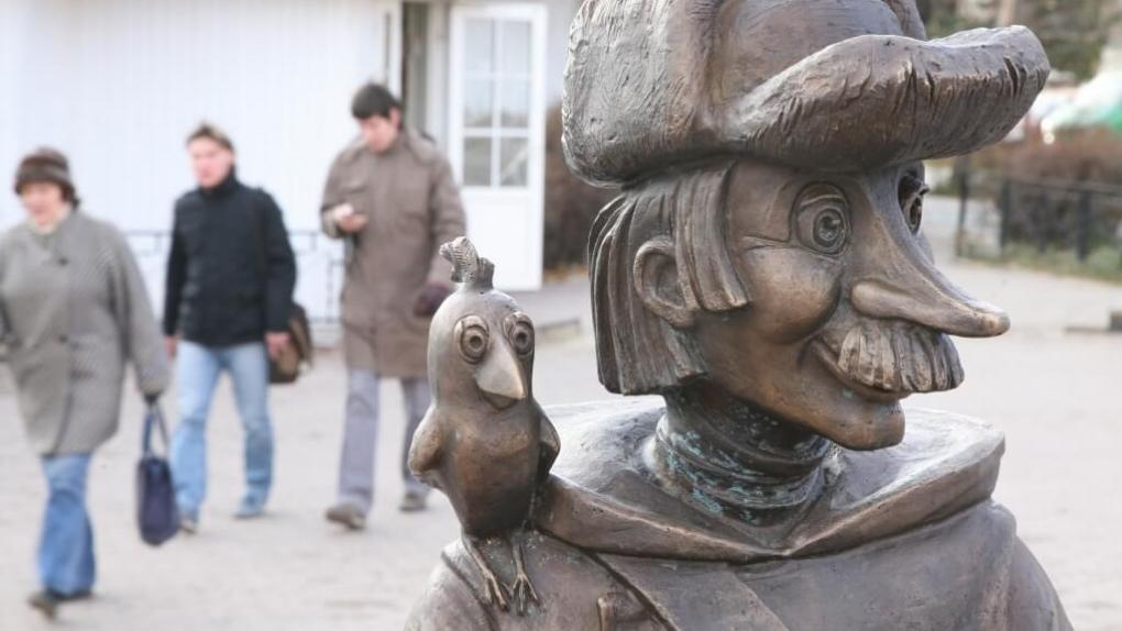 Памятник героям мультфильма