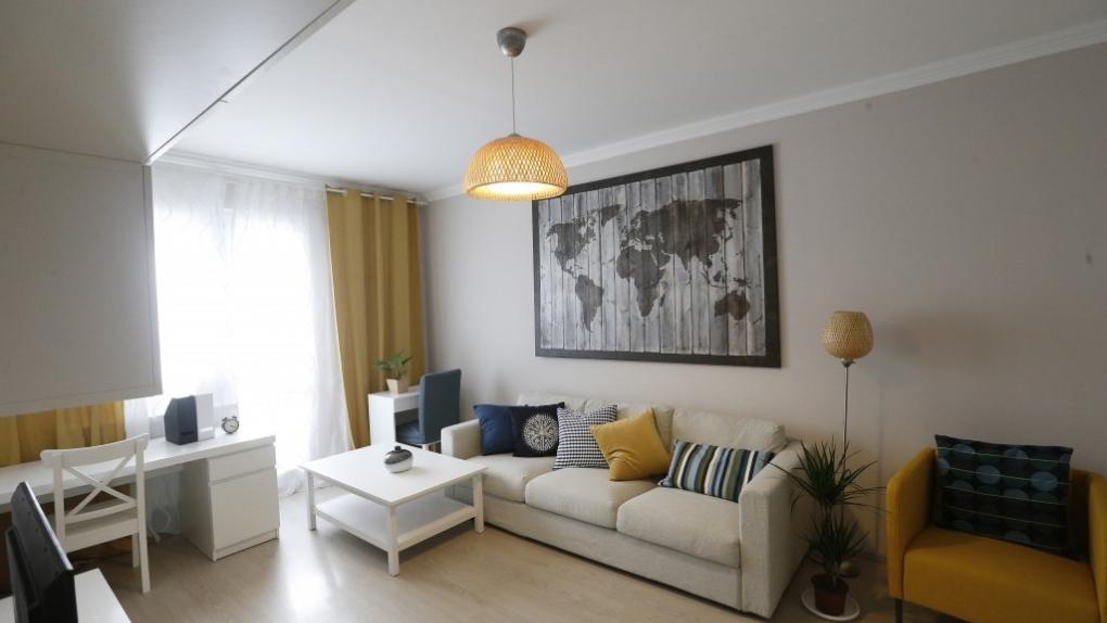 Интерьер квартиры в шоу-руме по программе реновации жилья