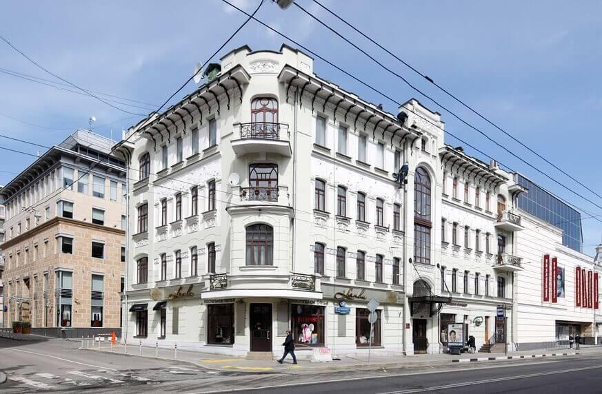 Дом на Остоженке в Москве
