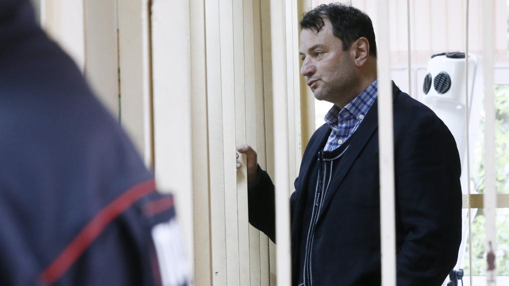 Юрий Итин в Пресненском районном суде. Фото: Александр Щербак/ТАСС