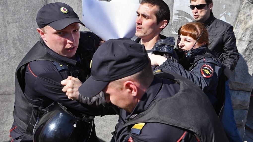 Акция в Екатеринбурге.