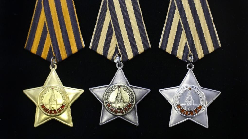 Орден Славы Первой, Второй и Третей степеней