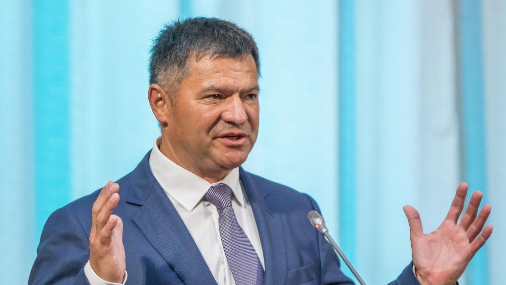 Временно исполняющий обязанности губернатора Приморского края Андрей Тарасенко, объявленный победителем второго тура выборов главы Приморья.