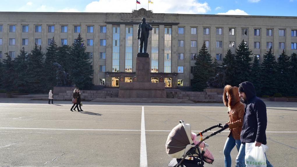 Здание администрации Старопольского края